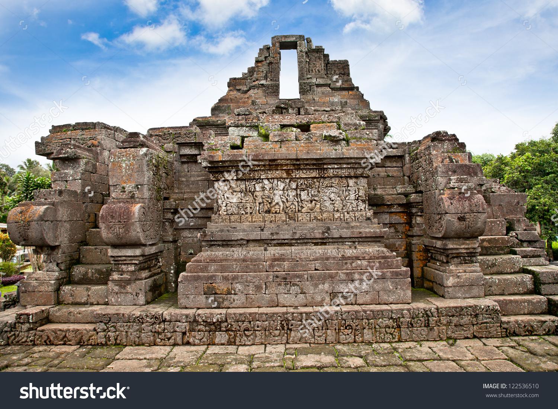 Candi Jago Temple And Memorial To Singosari King Near By Malang.