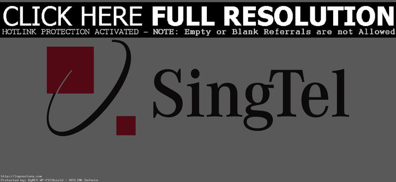 Download Free png Download SingTel Logo.