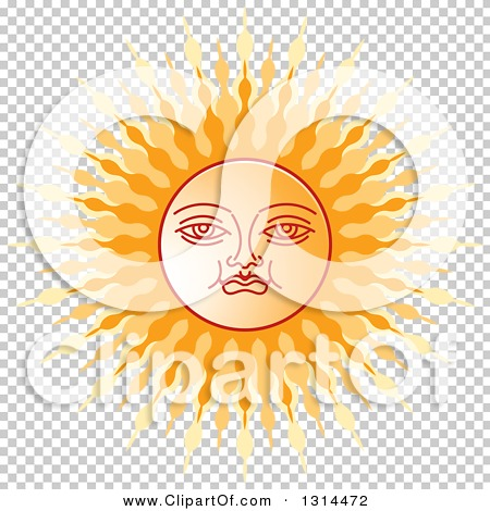 Clipart of a Sinhalese New Year Sun.