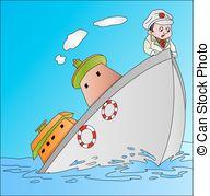 Sinking ship Stock Illustration Images. 795 Sinking ship.