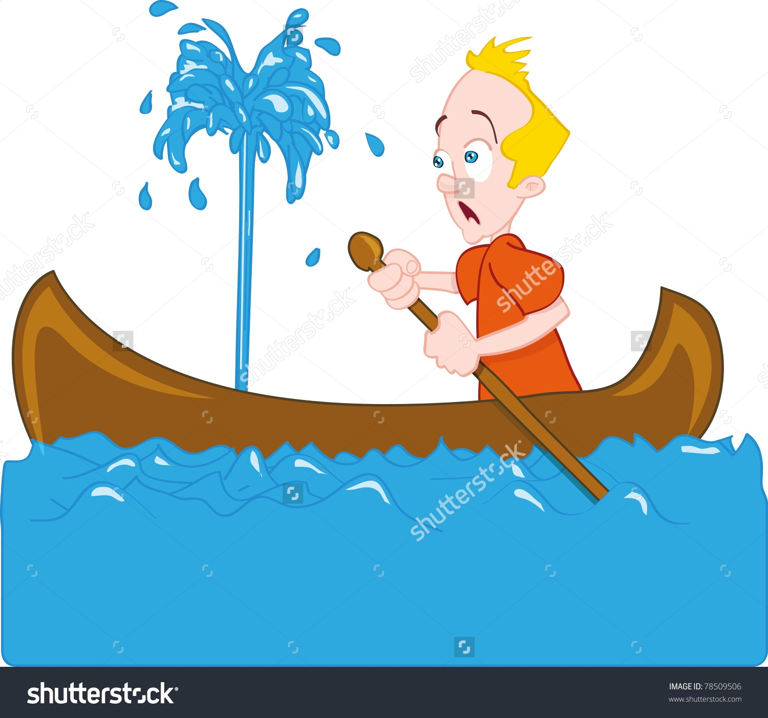 Boat sink clipart.