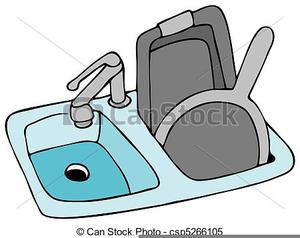Kitchen Sink Clipart Free.