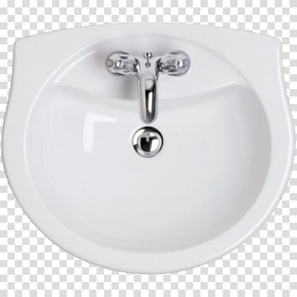 White ceramic sink with faucet, Architectural plan Furniture.