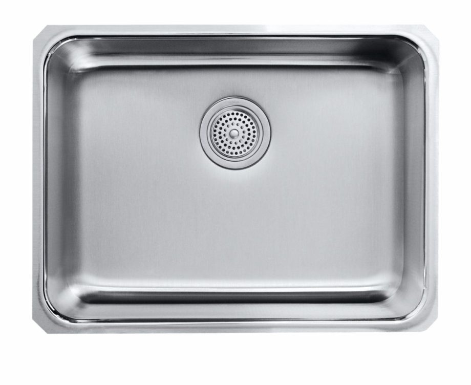Stainless Steel Kitchen Sink Png Image.