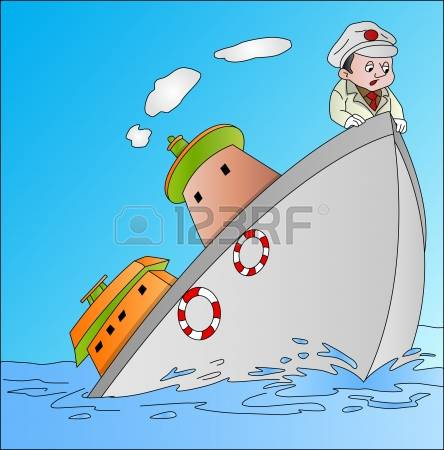 249 Sinking Ship Stock Vector Illustration And Royalty Free.