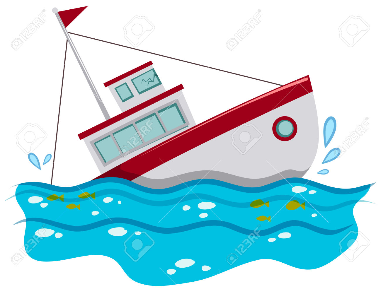 sinking ship clipart - Clipground