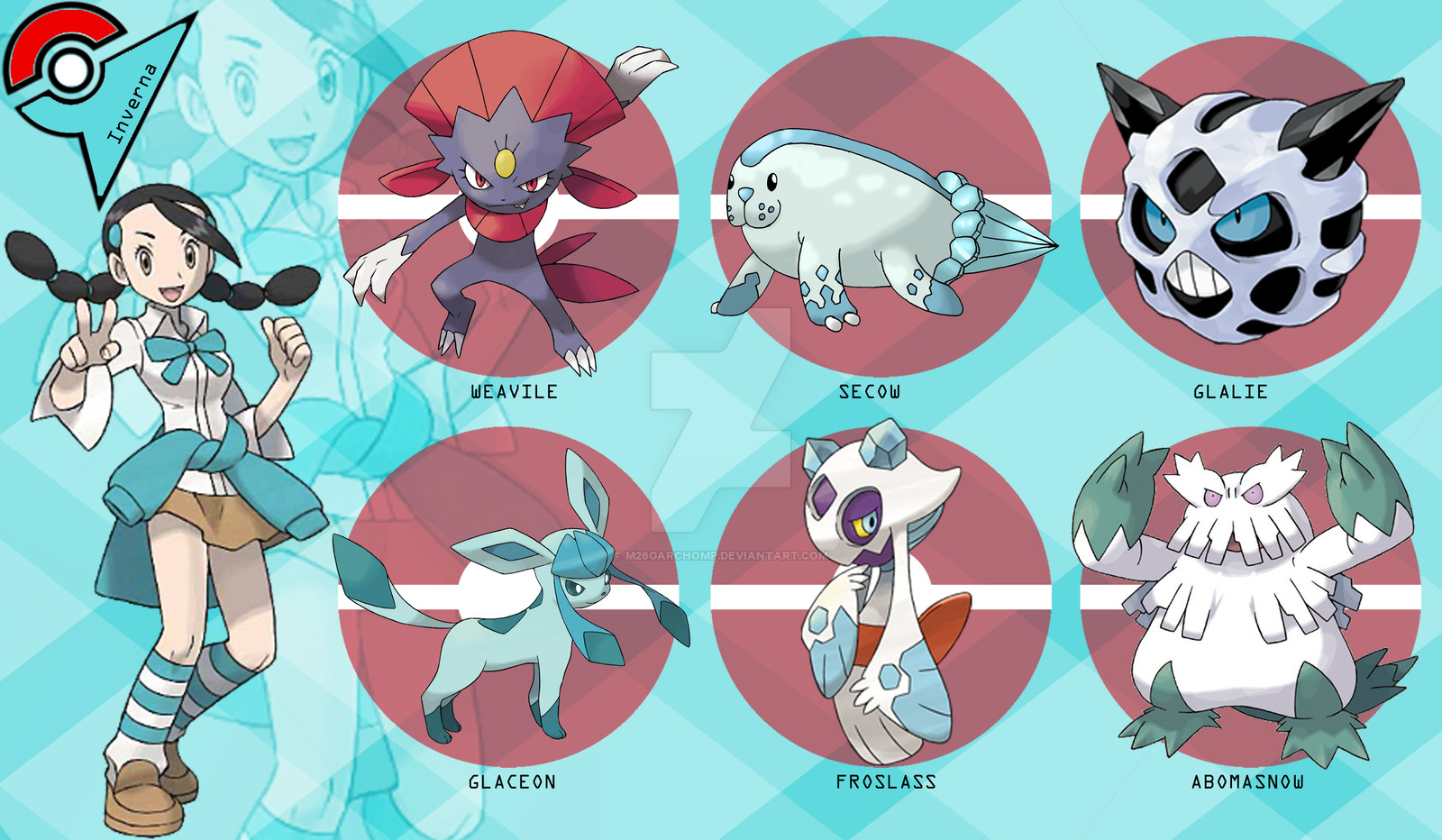 7Gym Leader Sinnoh Candice by M26Garchomp on DeviantArt.