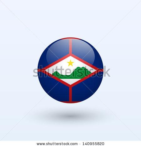 Flag Of Sint Eustatius Stock Vectors & Vector Clip Art.