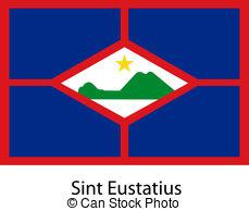 Sint eustatius flag Vector Clipart EPS Images. 22 Sint eustatius.
