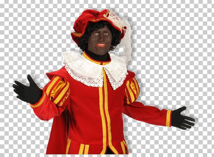 Zwarte Piet Sinterklaas Strooigoed Costume Character PNG.