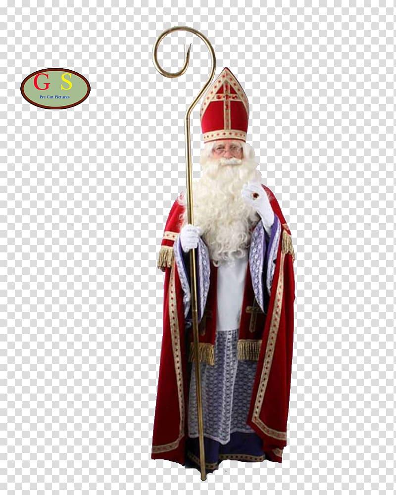 Santa Claus Sinterklaas Zwarte Piet Costume Christmas, Saint.