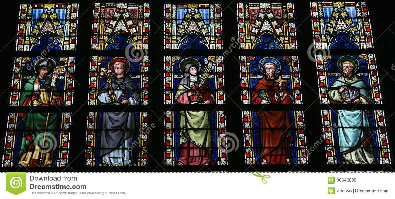 Saints Royalty Free Stock Photo.