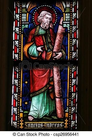 Stock Photo of Saint Andrew.
