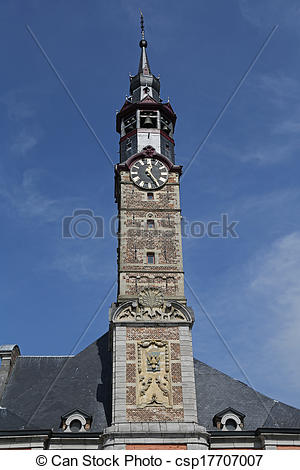 Stock Photography of Sint Truiden Town hall.