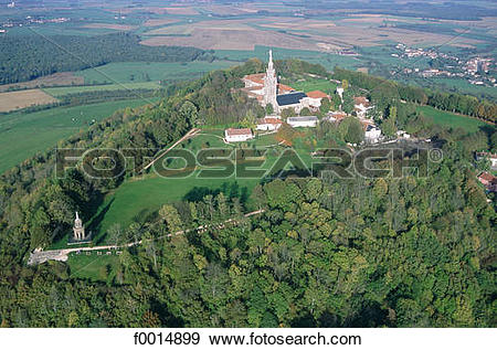 Stock Photograph of France, Lorraine, Our Lady of Sion f0014899.
