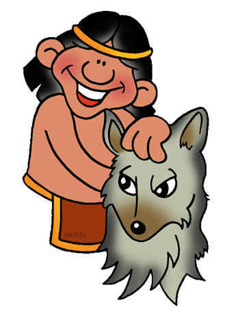 Sioux indian clipart.