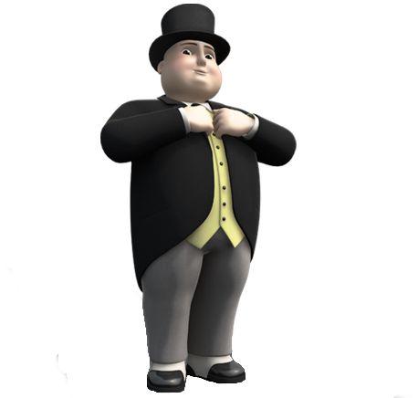 sir topham hatt.