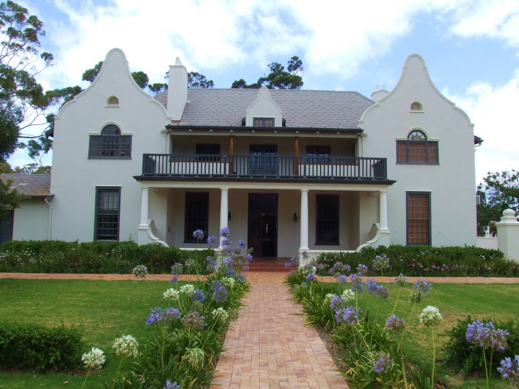 Photo of Architecture (Sir Herbert Baker) buildings Somerset West.