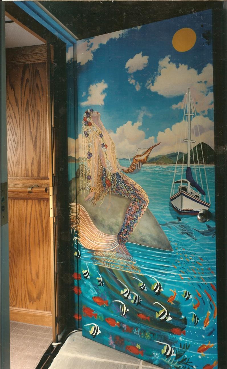 Modern clipart murals.