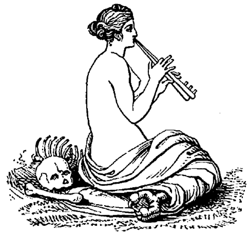 Siren Mythology Clipart.