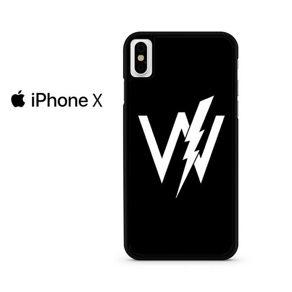 Sleeping With Sirens Logo For IPHONE X Case.
