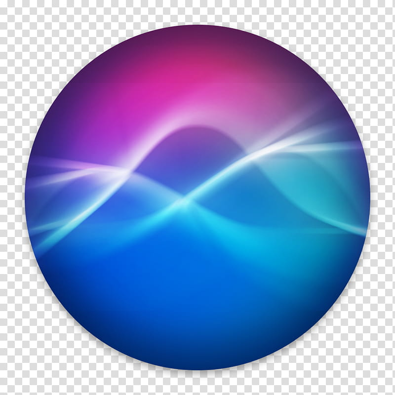 Siri for macOS Lux Edition, Siri Lux icon transparent.