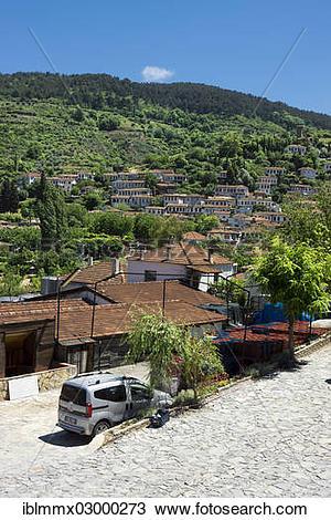 """Stock Photo of """"Mountain village of Sirince, Selcuk, Antalya."""