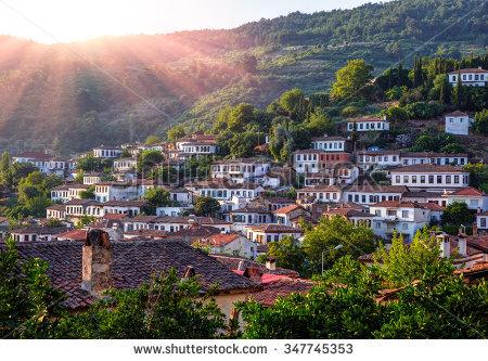 Sirince Village Izmir Province Turkey Stock Photo 347745353.