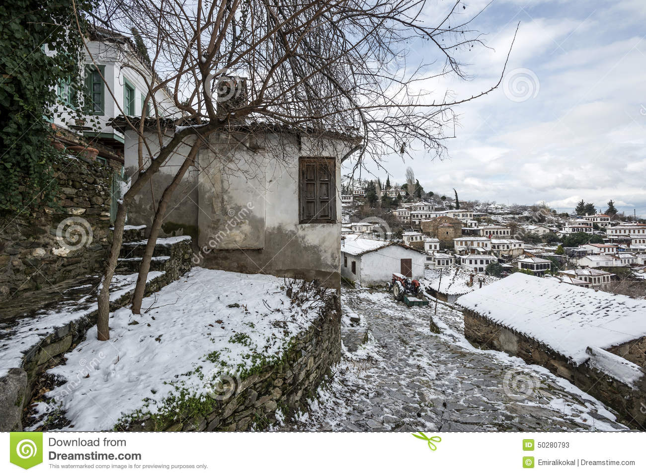 Sirince Old Turkish Village Stock Photos, Images, & Pictures.