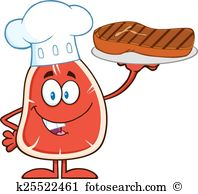 Sirloin steak Clipart Vector Graphics. 880 sirloin steak EPS clip.