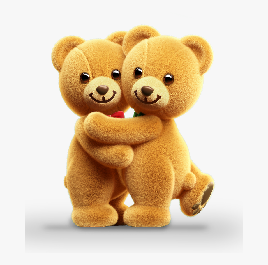 Hugging Clipart Two Bear.