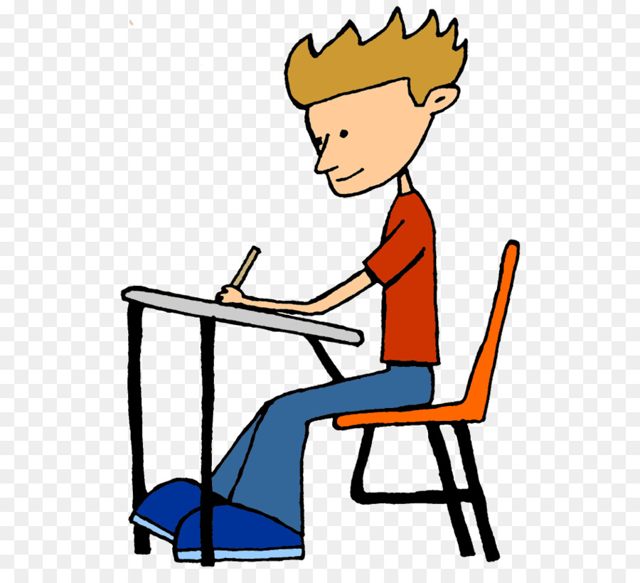 Sit at desk clipart 5 » Clipart Station.