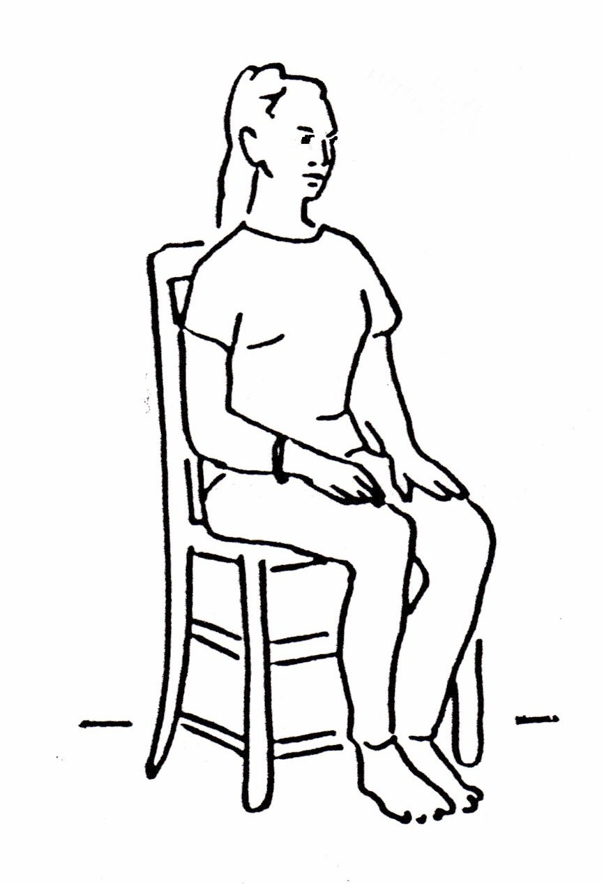 Free Sit Clipart Black And White, Download Free Clip Art.