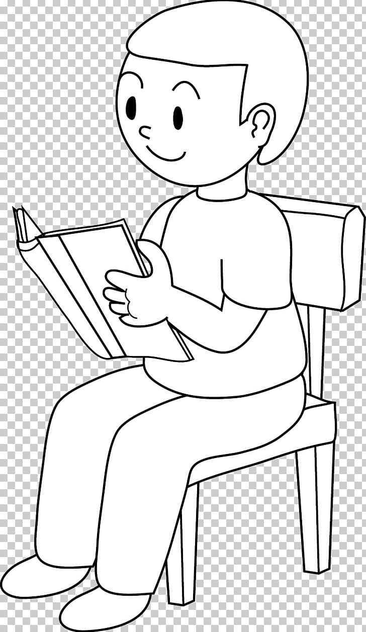 Sitting Chair Black And White Drawing PNG, Clipart, Angle.