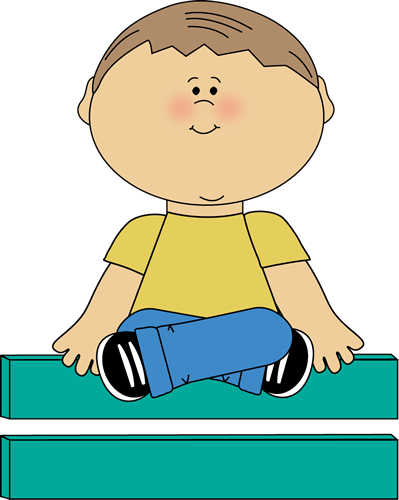 Sitting On Carpet Clipart.