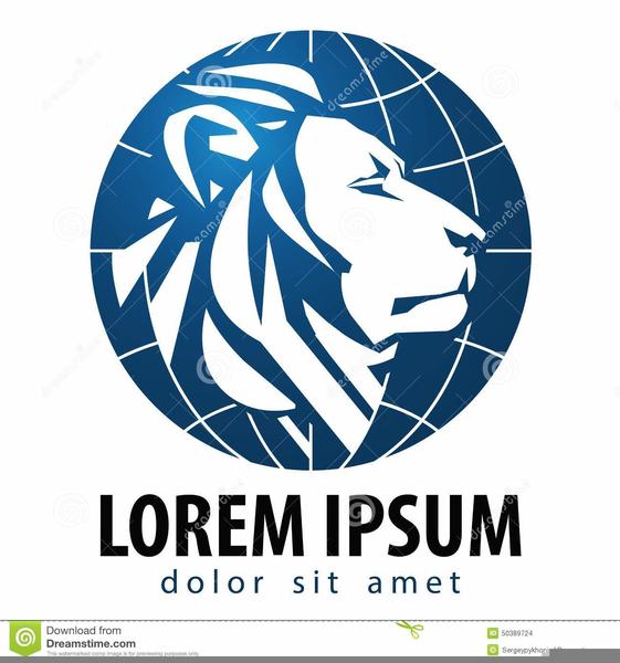 Lion Logo Clipart Graphics.