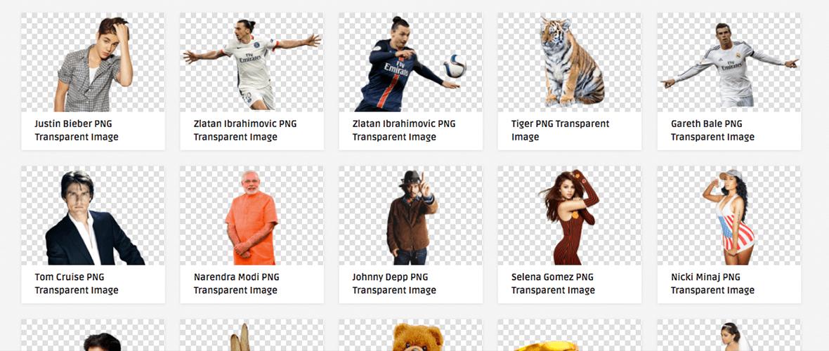 10 melhores bancos de imagem PNG.