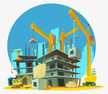 Free Construction Site Clip Art with No Background.