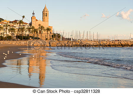Stock Photo of Sitges.