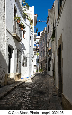 Stock Photo of Sitges, Spain.