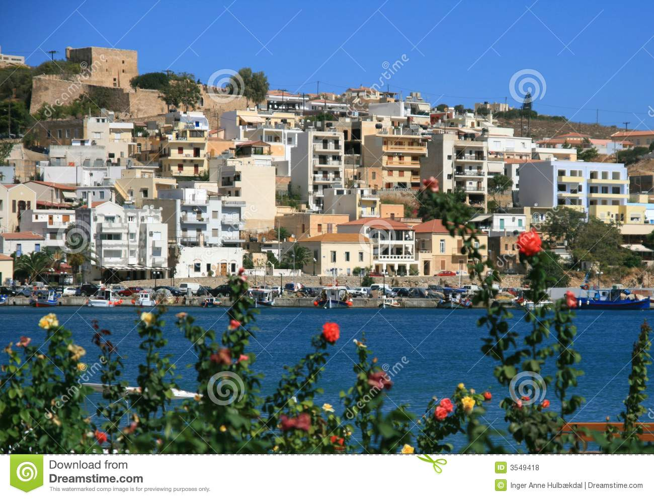 Sitia, Crete Royalty Free Stock Photos.