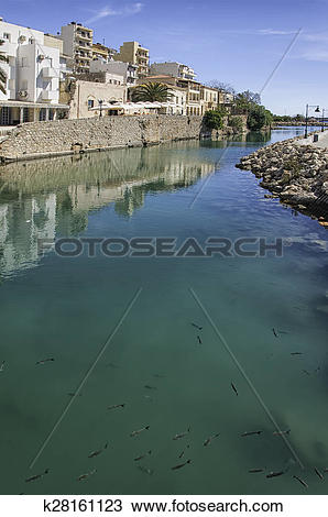 Stock Photo of Sitia Roman Fish Tanks k28161123.