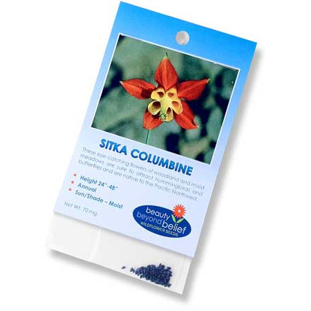 Sitka Columbine Seeds (70mg).
