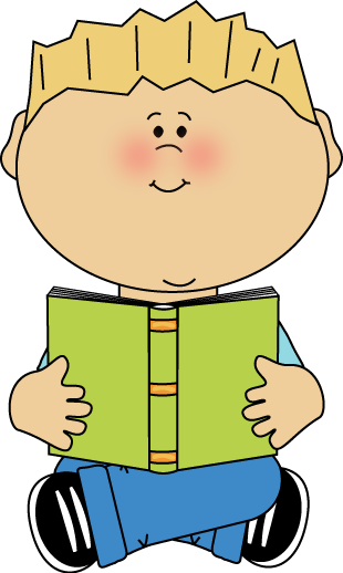 Boy Sitting Clipart.