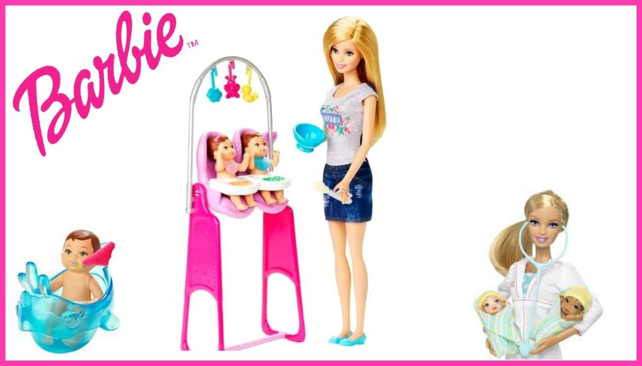 Barbie Twin Babysitter.