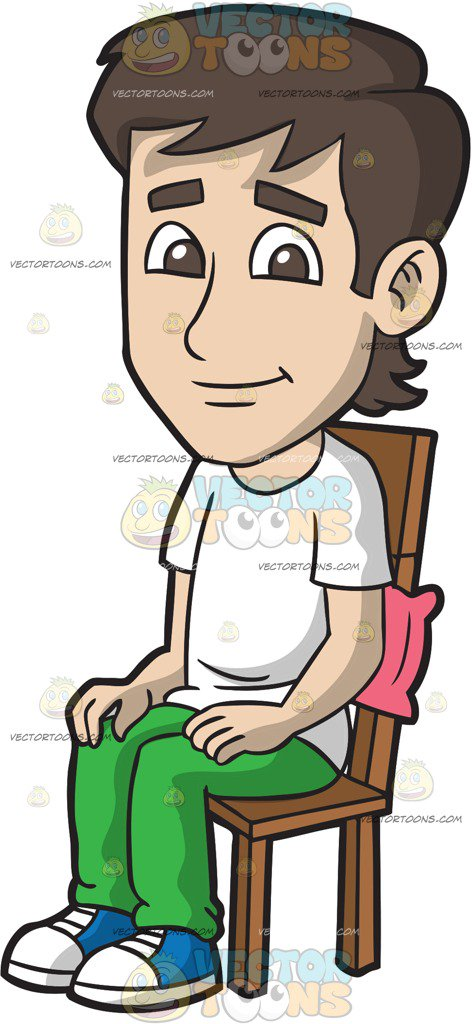 Sitting down clipart 1 » Clipart Station.