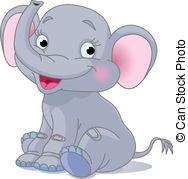 Baby elephant Clip Art Vector Graphics. 4,083 Baby elephant EPS.