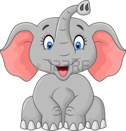 14,512 Cute Elephant Stock Vector Illustration And Royalty Free.