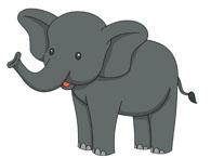 Free Elephant Clipart.