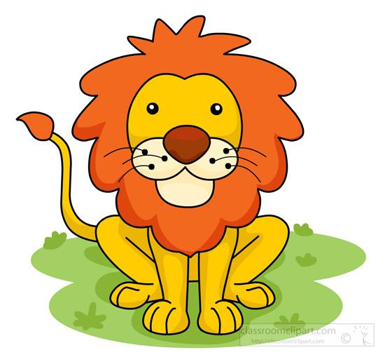 Lion Clip Art Pictures.